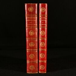1788-93 2vol Picturesque Antiquities Of Scotland 1st Ed Extra Illustrated Sca...