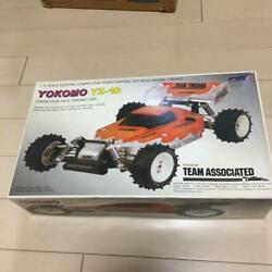 Very Rare Yokomo Vintage Yz-10 Competition 4wd 1/10 Raced By Team Associated