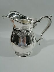 International Prelude Water Pitcher - E95c - American Sterling Silver