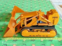 Vintage Bulldozer Komatsu D60s 60's Large Toy Battery Operated Japan For Parts