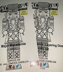Stamplistic Major Macadamia Christmas Nutcracker A Cut Above Set Of Stamp And Dies