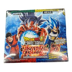 Dragon Ball Super Tcg Universal Onslaught Booster Box Factory Sealed