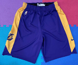 Lakers Game Worn Lebron James Pro Cut Jersey Shorts Team Issued Practice Used Xl