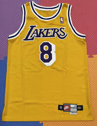 Lakers Kobe Bryant 42+4 Team Issued Authentic Pro Cut Jersey 1998-99 Nike 8