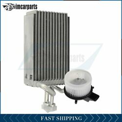 A/c Heater Blower Motor And Evaporator Core For 2008-2011 Chrysler Town And Country
