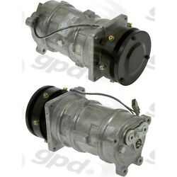 7512683 Gpd A/c Compressor New For Chevy Mercedes Le Sabre Suburban With Clutch