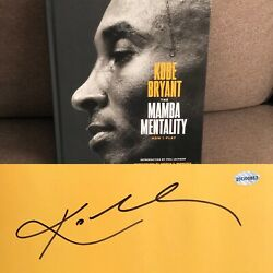 Kobe Bryant The Mamba Mentality Signed @ The Grove With Mamba Flyer And L.o.a 🔥
