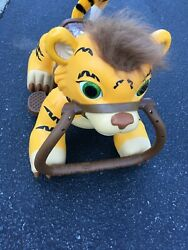 Kid Trax Rideamals Pacific Cycle Tiger Ride-on Toy Yellow No Charger Ac