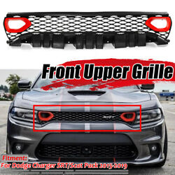 For Dodge Charger 15-19 Srt Scat Pack Style Conversion Front Grille W/air
