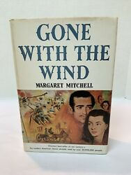 Gone With The Wind By Margaret Mitchell Vtg Hardcover Book Macmillan 1964 Bce
