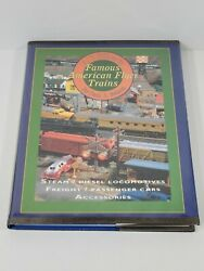 Famous American Flyer Trains By Paul C. Nelson Hardcover Book A.c. Gilbert's