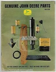 John Deere Tractor And Farming Equipment Vintage Graphic Advertising Parts Catalog