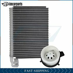 A/c Heater Blower Motor And Evaporator Core For 2008 2009-2010 Dodge Challenger