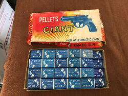 Vintage Giant Pellets For Automatic Toy Japan 44 Boxes Of 50