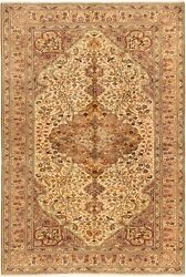 Vintage Hand-knotted Carpet 6'6 X 9'8 Traditional Oriental Wool Area Rug