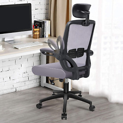 Engber Ergonomic Office Chair Rolling Desk Chairs Lumbar Support, Mesh Computer