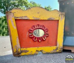 Carousel Mirror 40.5 Rounding Board With Beveled Mirror Vintage