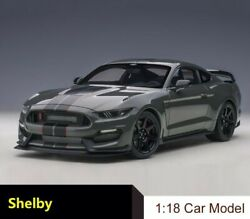 118 Ford Gt350r Shelby Cobra Alloy Diecast Toy Model Car Collection Gift Car
