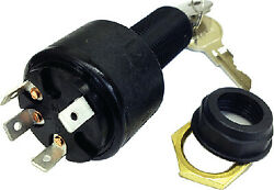 Marineworks Ignition Switch, Accessory-off-run-start, 4 Blade, Polyester