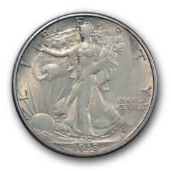 1918 S 50c Walking Liberty Half Dollar About Uncirculated To Mint State R389