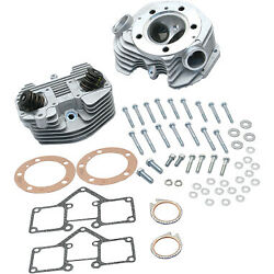 S And S Cycle 90-1488 Super Stock Cylinder Heads Dual Plug