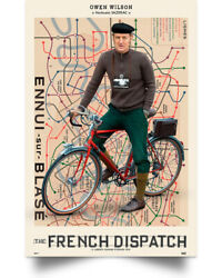 The French Dispatch Wall Art Decor Home Poster Full Size