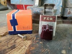 Nos 1930's 1940's 1950's Accessory Under Dash Fog Light Switch Cathedral Bomb