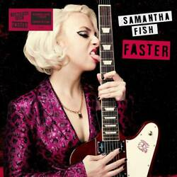 Samantha Fish Faster Limited Edition Alternate Cover +poster New Sealed Vinyl Lp