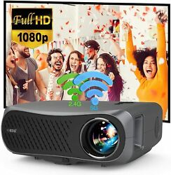 5g Wifi Android 6.0 Projector 4k Video 8500lm Native 1080p Beamer Blue-tooth Us