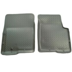31602 Husky Liners Floor Mats Front New Gray For Chevy Olds S10 Pickup Truck