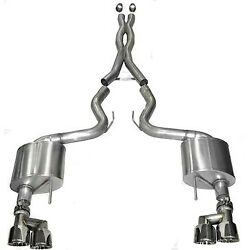 14335 Corsa Exhaust System New Coupe For Ford Mustang 2015-2018