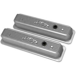 241-246 Holley Valve Covers Set Of 2 New For Chevy Express Van Suburban Pair