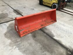 """Unused Kubota L2273 72"""" Front End Loader Bucket For Compact Tractor"""