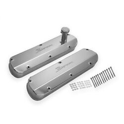 890013 Holley Valve Covers Set Of 2 New For Country Custom Econoline Van Pair