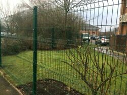 150mtrs 50 Panels And 50 Posts 2.0m High V Mesh Fencing Ppc Green Or Ppc Black