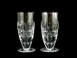 2 Waterford Crystal Kylemore Iced Tea Beverage Glasses Qty Avail