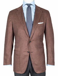 Kiton Jacket In Maroon With Patch Pockets Cashmere/silk Rgeur5190