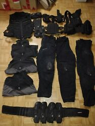 Dye Tactical Black Paintball Lot - New And Used - Pants Shirts Vests And More