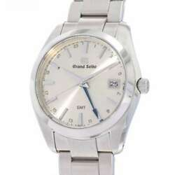 Seiko Grand Seiko Heritage Collection Gmt 40mm Stainless Steel Silver Dial S...