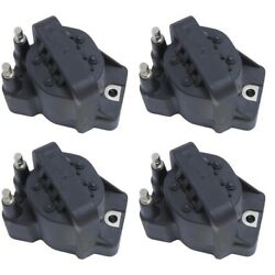 Set-wkp9201005-4 Walker Products Ignition Coils Set Of 4 New For Chevy Olds
