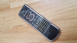 Immaculate Condition Nokia 8800 Carbon Arte Sim Free Uk Version Mobile Phone