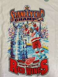 Detroit Red Wings 1997 1998 Stanley Cup Champions Starter Brand New Old Stock