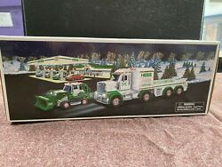 Super Vintage 2013 Hess Toy Truck And Tractor Mint In Box Mib Holiday Toy Truck