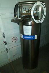 Carbo-mizer 450 Stainless Steel Commercial Bulk Co2 System Vessel