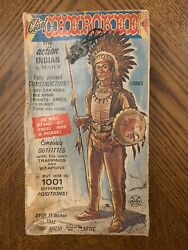 Vintage Marx Johnny West Chief Cherokee The Action Indian Box Only