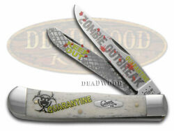 Case Xx Trapper Knife Zombie Outbreak Natural Bone 1/3000 Stainless Pocket