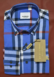 NEW WITH TAGS MENS BURBERRY LONG SLEEVE SHIRT SIZE Small to 2XL RegularS $62.90