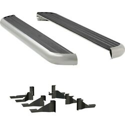 575114-571439 Luverne Running Boards Set Of 2 New Polished For Ram 2500 Pair