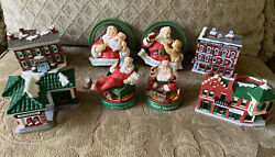 Lot Of 8 Collectible Cocacola Coke Trim-a-tree Christmas Tree Ornaments
