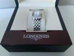 Longines Dolce Vita Womens Swiss Made Polished Stainless Steel Watch - Excellent